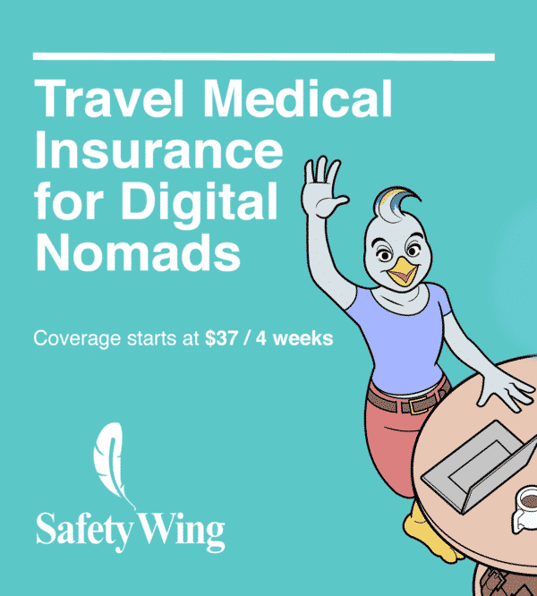 SafetyWing Travel Insurance Digital Nomads Living Abroad