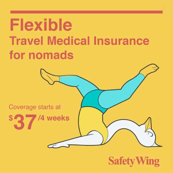 SafetyWing Travel Insurance Moving Abroad