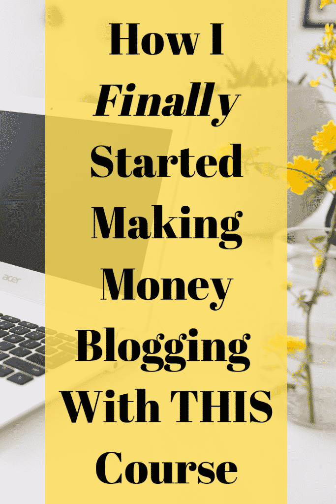 How I Finally Started Making Money Blogging - Create And Go Course Review