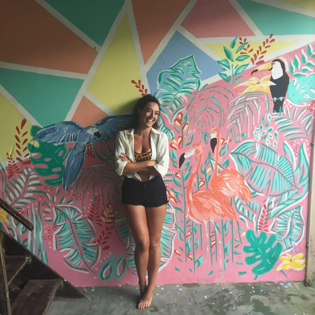 How much do digital nomads make - Karo's mural