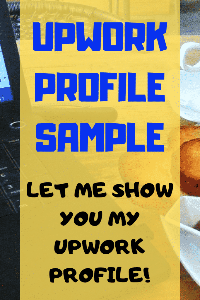 UPWORK PROFILE SAMPLE PINTEREST