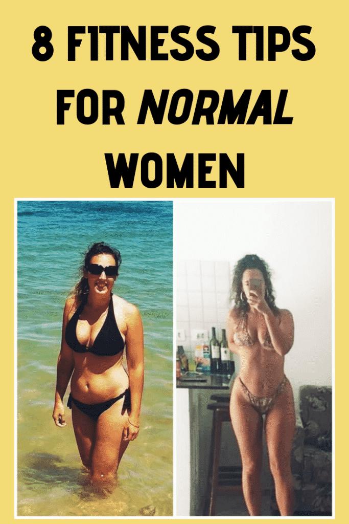 fitness tips for normal women