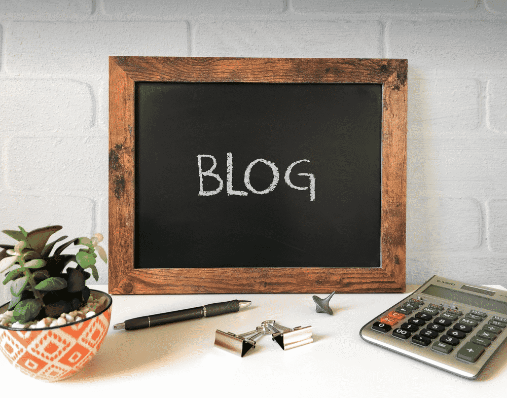 I want to start a blog