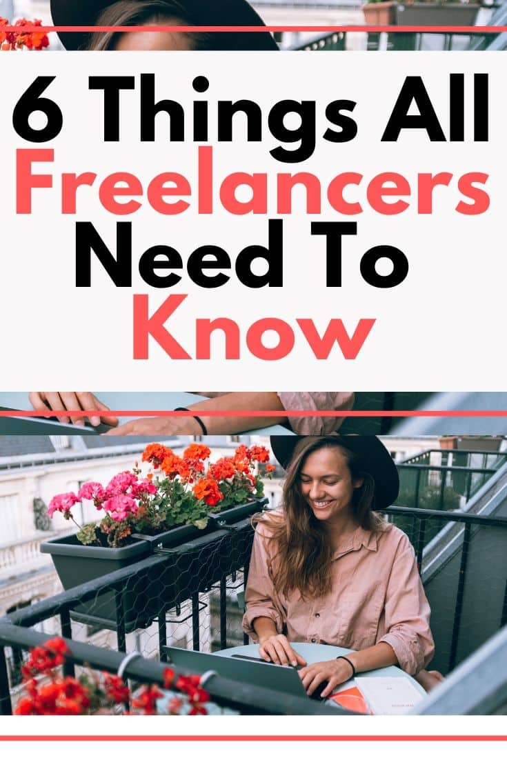 6 things all freelancers need to know